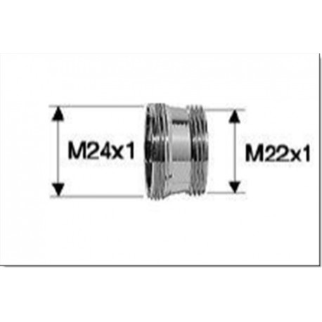 BAGUE ADAPTATION M22 x M24