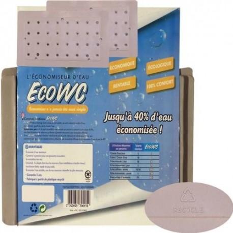 Economiseurs d'eau Eco WC (lot de 2 plaques)